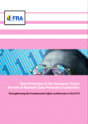 Cover of the Report: Data Protection in the European Union: the role of National Data Protection Authorities