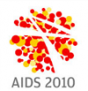 Logo of the 2010 AIDS conference