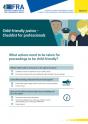 Une justice adaptée aux enfants – Liste de contrôle pour les professionnels