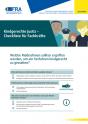 Kindgerechte Justiz – Checkliste für Fachkräfte
