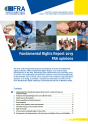 Fundamental Rights Report 2019 – FRA opinions