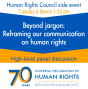 International organisations commit to building broader support for human rights